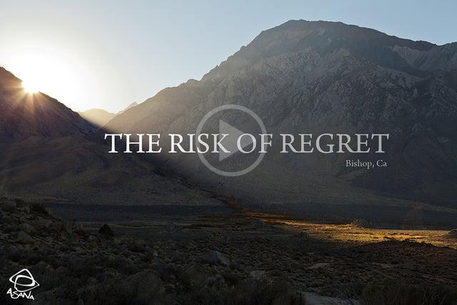 The Risk of Regret
