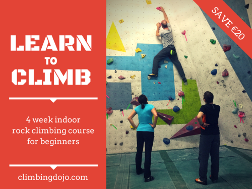 Learn to Climb 4 week indoor rock climbing course for beginners