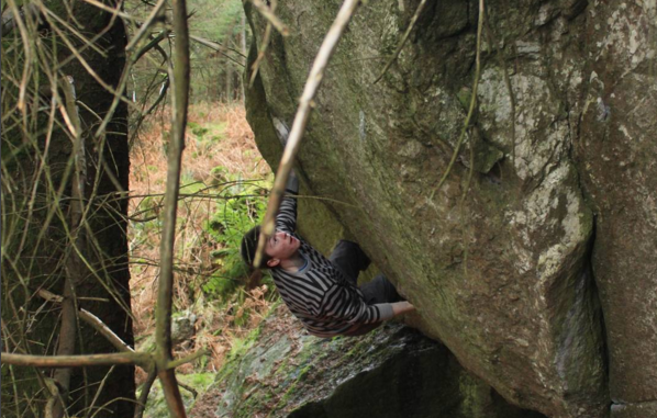 David Fitzgerald Sends 'Soul Revolution' 8B+ 'Wonderland' 8b
