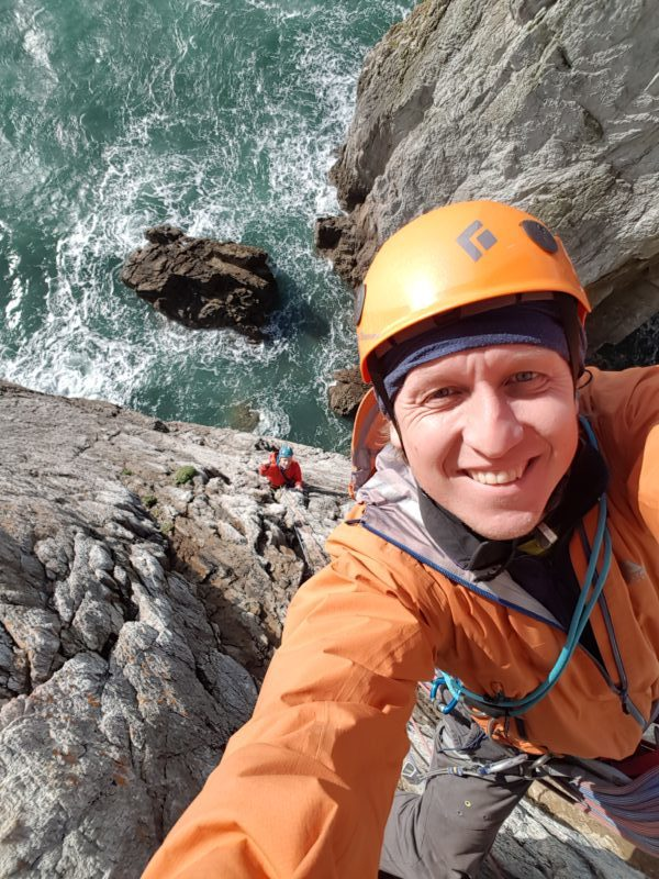 Leman Lemanski Rock Climbing Coach Instructor Rock Climbing Courses