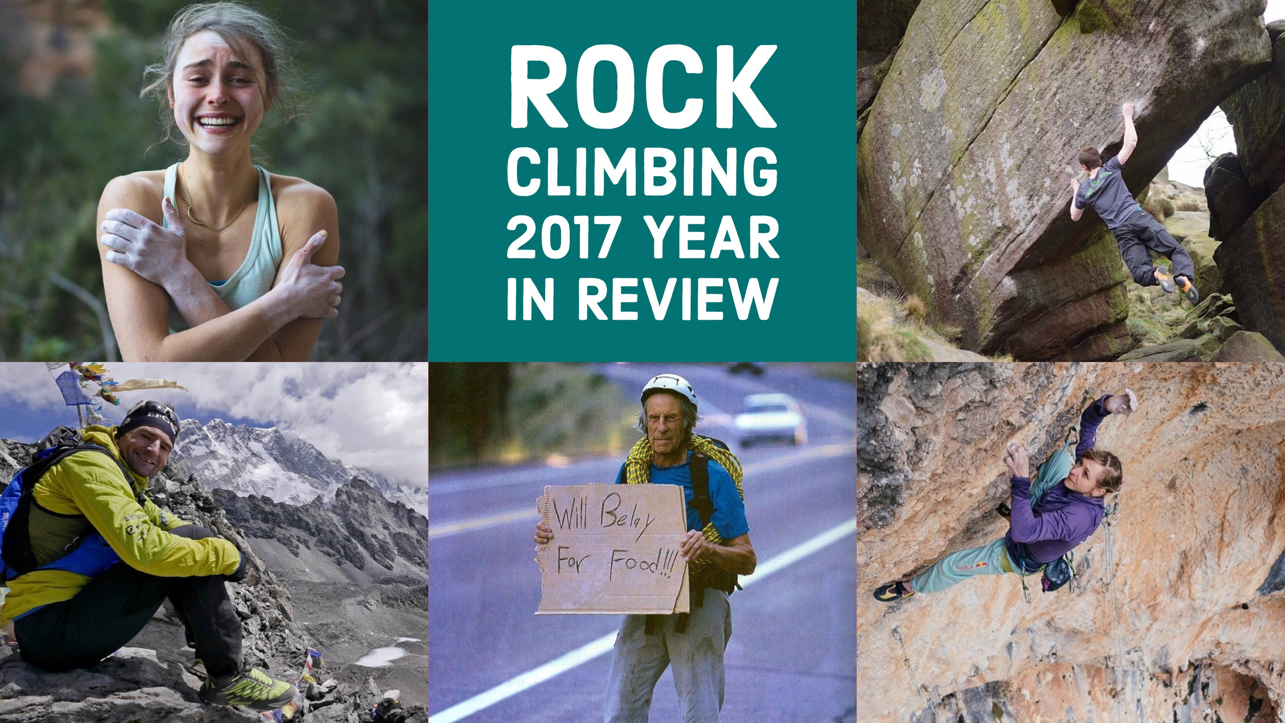 Rock Climbing – 2017 Year in Review
