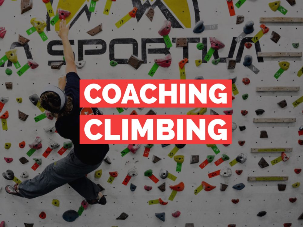 1:1 Coaching for climbers