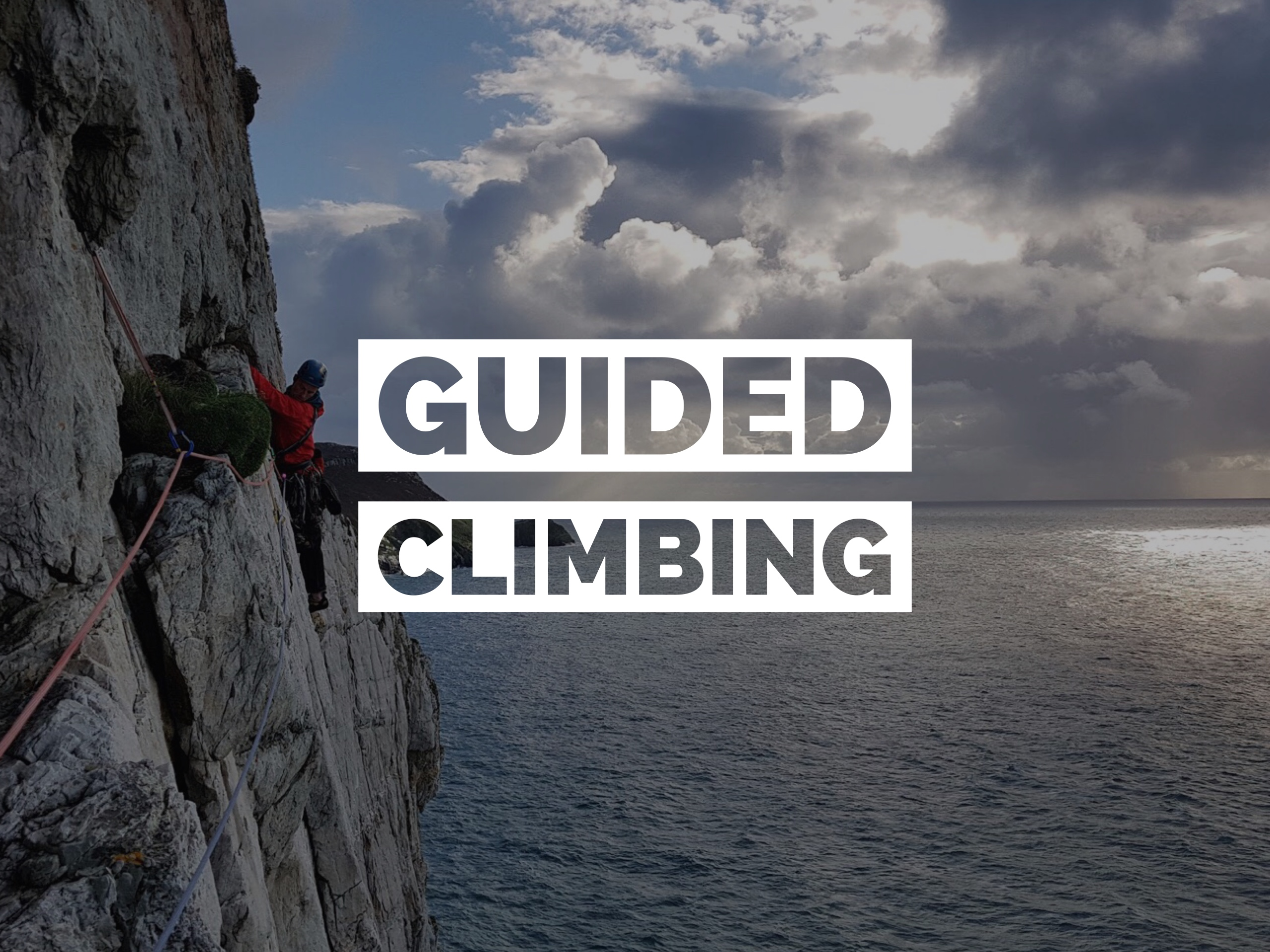 Guided classic climbs in Ireland