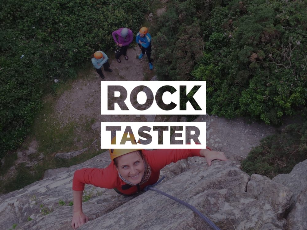 Rock Taster – Beginners Climbing Course