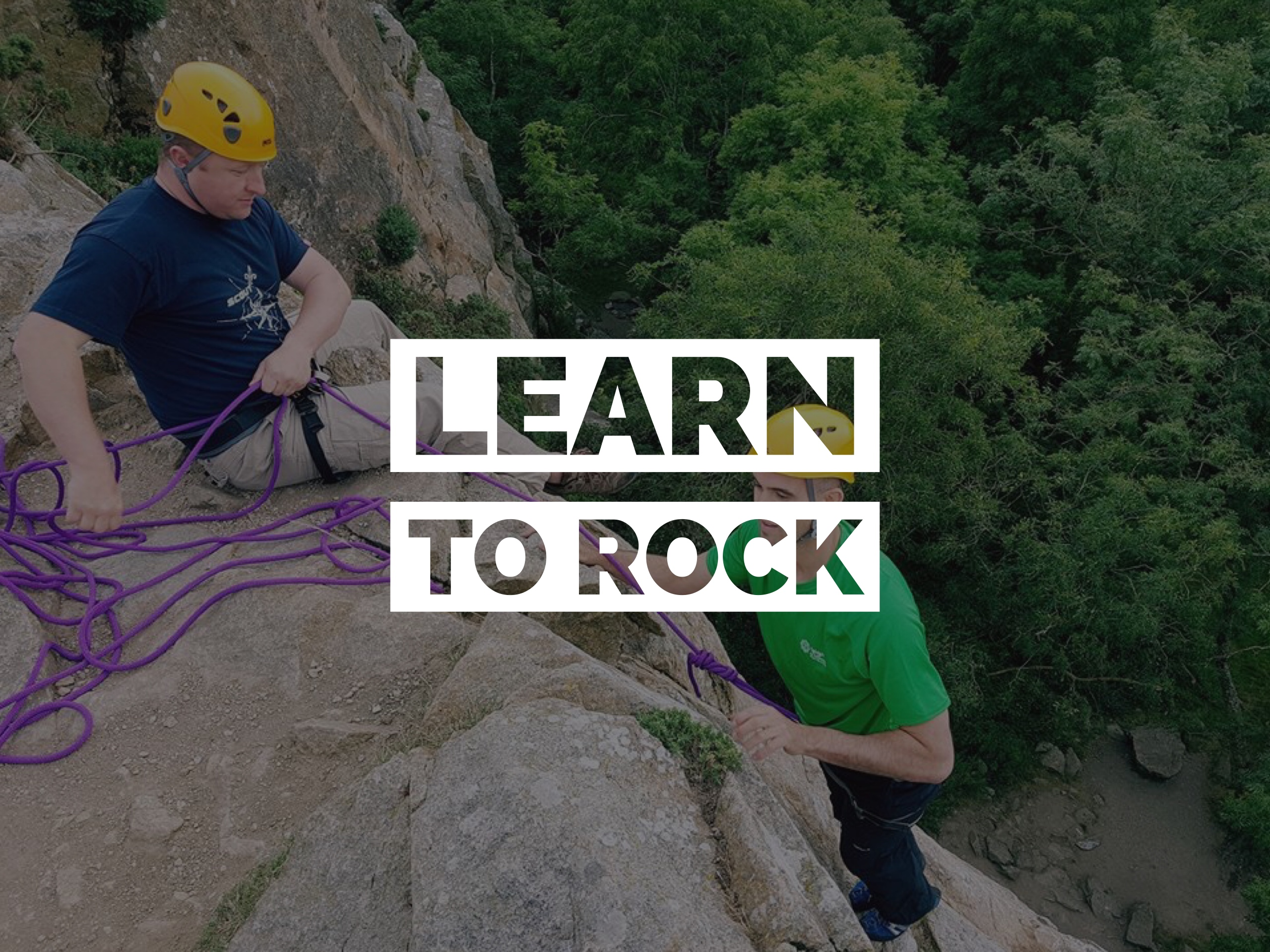 Learn To Rock – Introduction to Rock Climbing 2 day Course