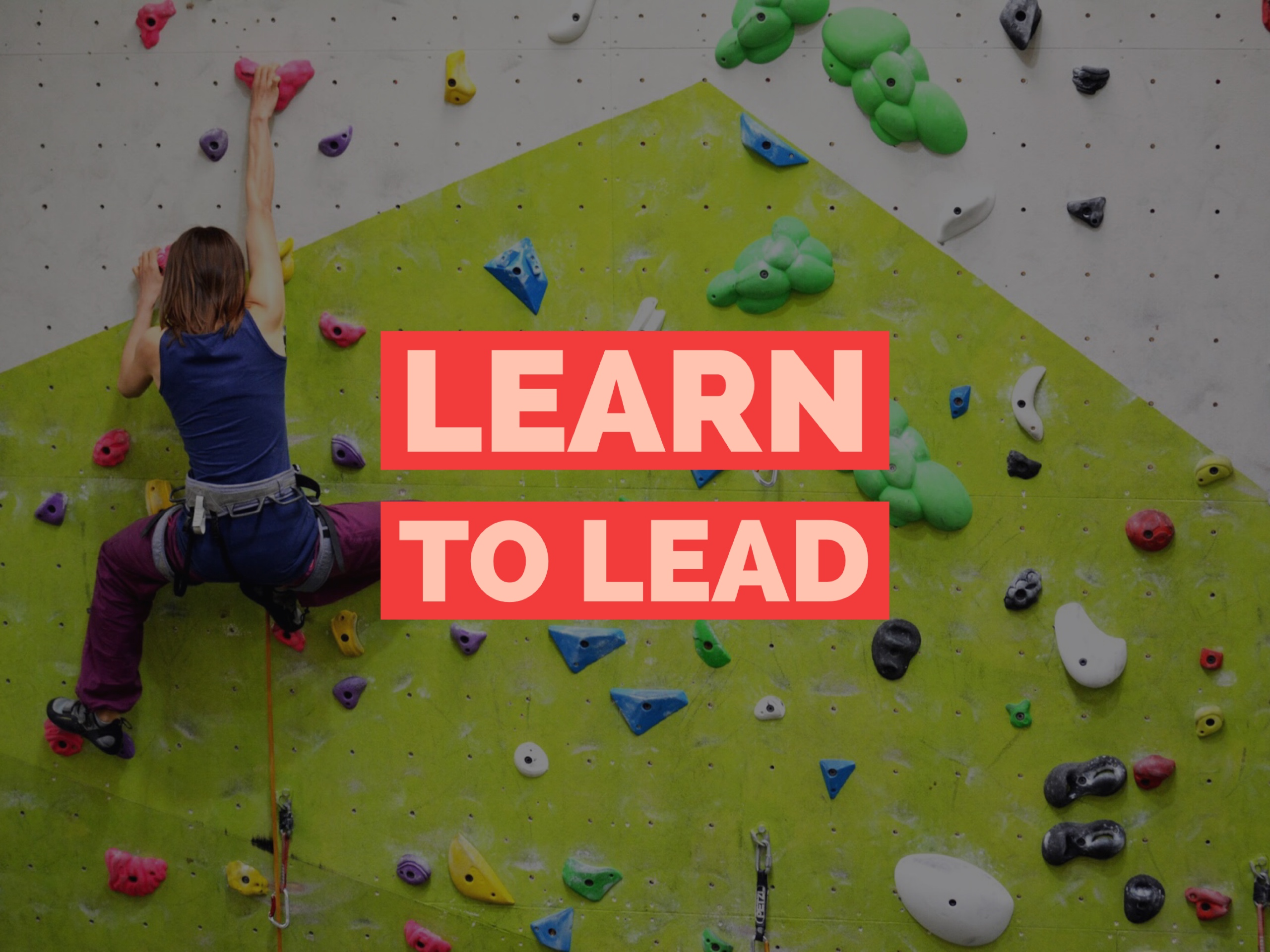 Indoor Lead Climbing Course