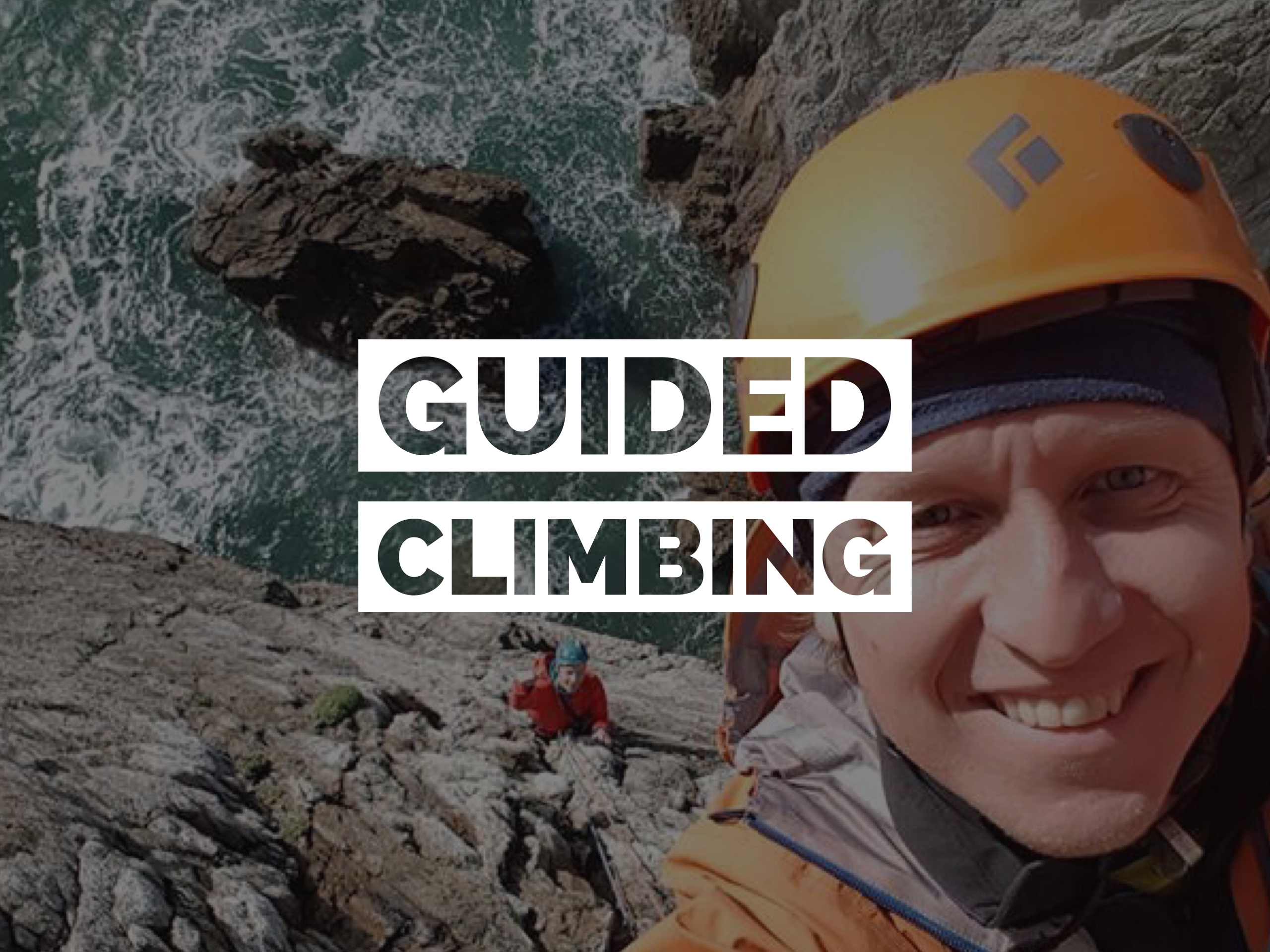 Guided Climbing Rock Climbing Guide Ireland Multipitch Climbing