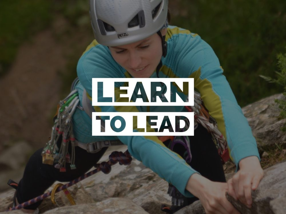 Learn to Lead Climb Outdoors
