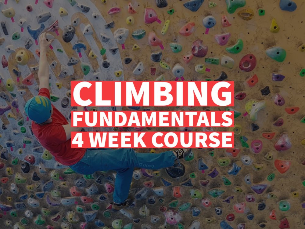 Climbing Fundamentals 4 week course